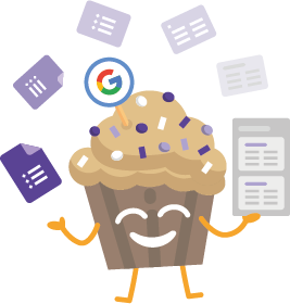 Crmble muffin juggling with Google Form and Trello cards