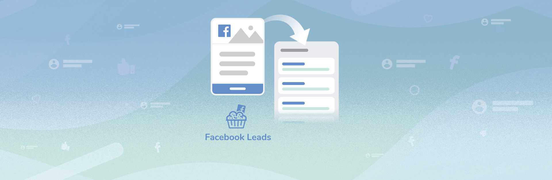 Facebook Leads Ad form becomes a Crmble card in your Trello board