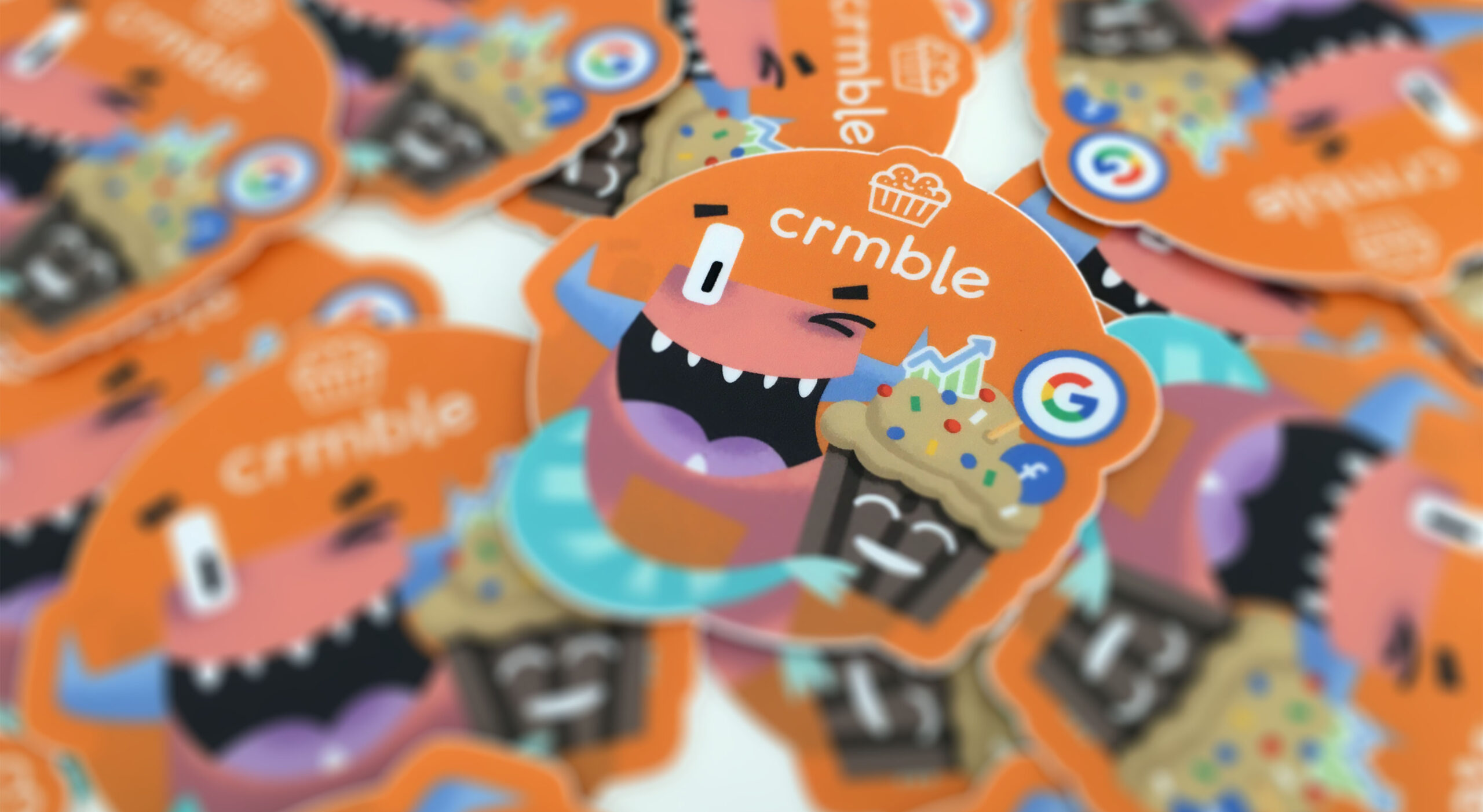 Crmble sticker order board background